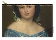 Portrait Of Henriette Mayer Van Den Bergh, At And By Jozef Van Lerius Carry-all Pouch