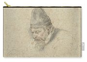 Portrait Of Henry Avercamp Carry-all Pouch