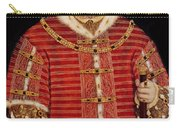 Portrait Of Henry Viii Carry-all Pouch by Hans Holbein the Younger