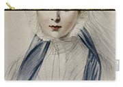 Portrait Of Her Majesty Queen Victoria As A Young Woman By Emile Desmaisons Carry-all Pouch