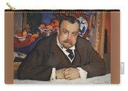 Portrait Of Ivan Morozov 1910 Valentin Serov Carry-all Pouch
