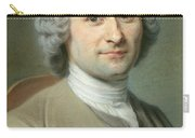 Portrait Of Jean Jacques Rousseau Carry-all Pouch