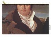 Portrait Of Joseph Antoine Moltedo Carry-all Pouch