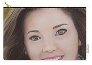 Portrait Of Kaitlyn Carry-all Pouch