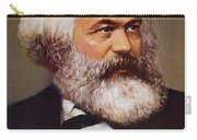 Portrait Of Karl Marx Carry-all Pouch