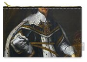 Portrait Of King Charles I After Van Dyck Carry-all Pouch