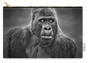 Portrait Of King Kongs Cousin IIi Carry-all Pouch