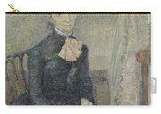 Portrait Of Leonie Rose Charbuy-davy Paris  March  April 1887 Vincent Van Gogh 1853  1890 Carry-all Pouch