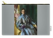 Portrait Of Lilly Eberhard Anheuser Anders Zorn Carry-all Pouch