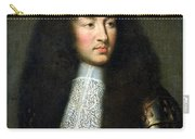 Portrait Of Louis Xiv Carry-all Pouch