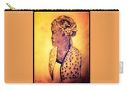 Portrait Of Lovely African Woman Carry-all Pouch