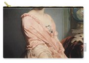 Portrait Of Madame F Carry-all Pouch by Edouard Louis Dubufe