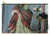 Portrait Of Madame Louis Joachim Gaudibert Carry-all Pouch