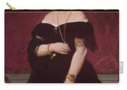 Portrait Of Madame Moitessier Standing Carry-all Pouch
