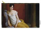 Portrait Of Madame Recamier Carry-all Pouch