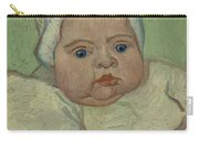 Portrait Of Marcelle Roulin Arles, December 1888 Vincent Van Gogh 1853  1890 Carry-all Pouch