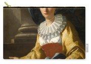 Portrait Of Maria Cavalcanti Ametrano Duchess Of San Donato Carry-all Pouch