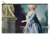 Portrait Of Marie-louise Victoire De France Carry-all Pouch by Adelaide Labille-Guiard