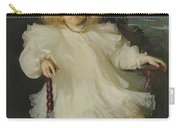Portrait Of Marjorie Coldwell Westinghouse  Carry-all Pouch