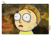 Portrait Of Morty Carry-all Pouch