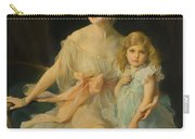 Portrait Of Mrs Claude  Carry-all Pouch