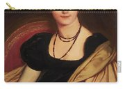 Portrait Of Mrs Devauay Carry-all Pouch