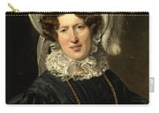 Portrait Of Mrs Wartfeld Carry-all Pouch