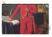 Portrait Of Napolan Bonaparte The First Council 1804 Carry-all Pouch