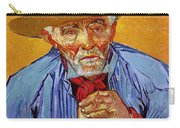 Portrait Of Patience Escalier Carry-all Pouch