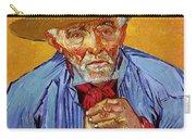 Portrait Of Patience Escalier Carry-all Pouch by Vincent van Gogh