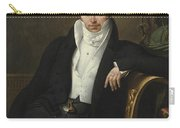 Portrait Of Pierre-jean-george Cabanis Carry-all Pouch