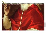 Portrait Of Pope Pius Carry-all Pouch