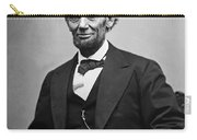 Portrait Of President Abraham Lincoln Carry-all Pouch
