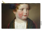 Portrait Of Prince Victor Odescalchi  In Greek Costume At The Age Of Five Carry-all Pouch