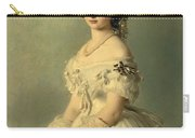 Portrait Of Princess Of Baden Carry-all Pouch by Franz Xaver Winterhalter
