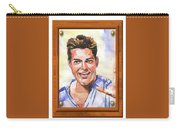 Portrait Of Ricky Martin Carry-all Pouch