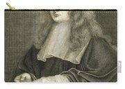 Portrait Of Sir Isaac Newton Carry-all Pouch