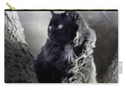 Portrait Of Smoky  Carry-all Pouch