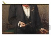 Portrait Of The Commander A Salviati Carry-all Pouch