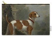 Portrait Of The Duke Of Hamilton Hound Carry-all Pouch