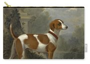 Portrait Of The Duke Of Hamilton's Hound Jewell Carry-all Pouch