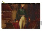 Portrait Of The Emperor Alexander Carry-all Pouch