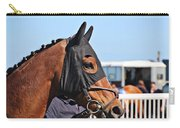 Portrait Of The Horse In The Hood Carry-all Pouch