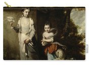 Portrait Of The Ladies Amabel And Mary Jemima Yorke Carry-all Pouch