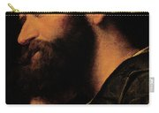 Portrait Of The Poet Pietro Aretino Carry-all Pouch