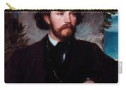 Portrait Of The Singer Karl Wallenreiter Carry-all Pouch