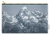 Portrait Of The Tetons Carry-all Pouch