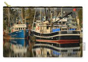 Portrait Of The Ucluelet Trawlers Carry-all Pouch