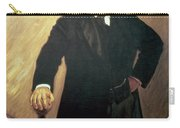 Portrait Of Theodore Roosevelt Carry-all Pouch by John Singer Sargent