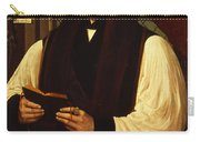 Portrait Of Thomas Cranmer Carry-all Pouch by Gerlach Flicke
